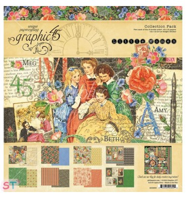 Collection Pack Little Women 12x12 Graphic45
