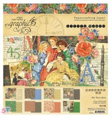 Paper Pad Little Women 8x8 Graphic45