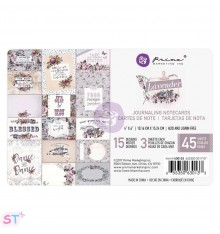 Lavender Journaling 4x6 Cards de Prima Marketing