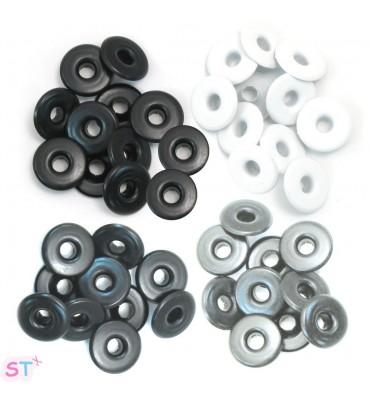 Eyelets Aluminium Neutros Grandes
