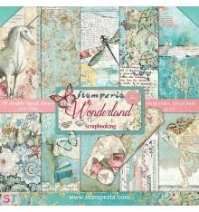 Wonderland 12x12 Stamperia