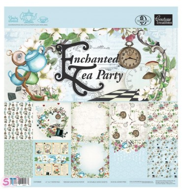 Paper pad Enchanted Tea Party 6x6