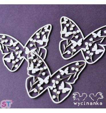 Mariposas de Campo x 3