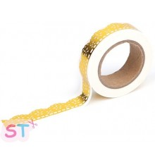 Washi tape Lily Gold