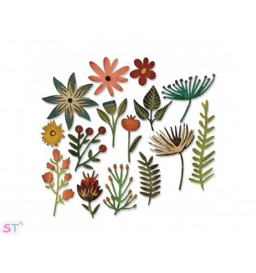 Troquel Thinlits Funky floral 3 by Tim Holtz