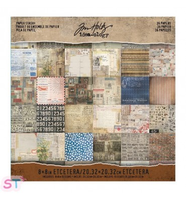 Paper pad Etcetera Tim Holtz 8x8 Idea-ology