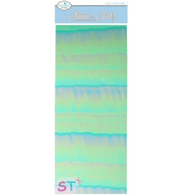 Shimmer Sheetz Blue
