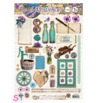 Hoja precortada La Provence Labels 1 A4