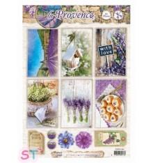 Hoja precortada La Provence Fotos 1 A4