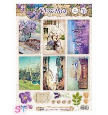 Hoja precortada La Provence Fotos 2 A4