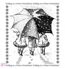 Sello Winter Wonderland