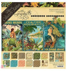 Deluxe Collector Pack Tropical Travelogue 12x12 Graphic45