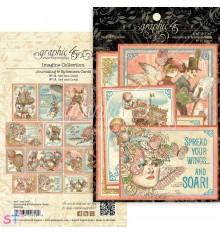 Imagine Ephemera Cards Graphic 45