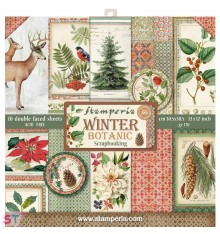 Winter Botanic 12x12 Stamperia