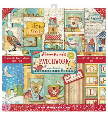 Patchwork 12x12 Stamperia