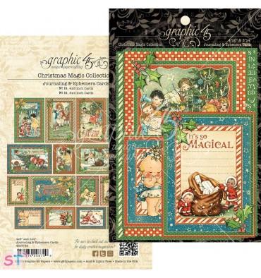 Christmas Magic Ephemera Cards Graphic 45