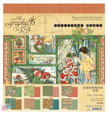 Christmas Magic  8x8 Graphic45
