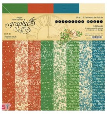 Paper Pad Christmas Magic Solid 12x12 Graphic45