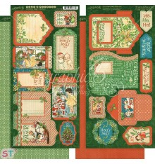 Christmas Magic Tags & Pockets Graphic 45
