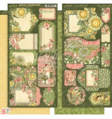 Garden Goddess Tags & Pockets Graphic 45