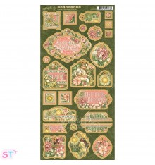 Garden Goddess Decorative & Journaling Graphic 45