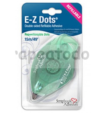 E-Z Dots Adhesivo removible puntos - Dispensador