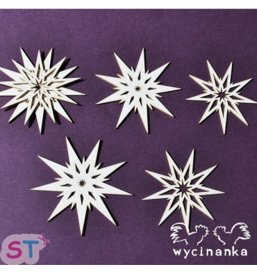 All about Christmas Estrellas x 5