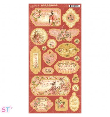 Princess Decorative & Journaling Graphic 45