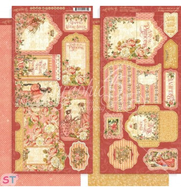 Princess Tags & Pockets Graphic 45