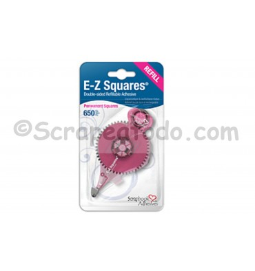 E-Z Squares Adhesivo permanente - recambio