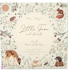 Paper Pad Little Fawn & Friends 12x12