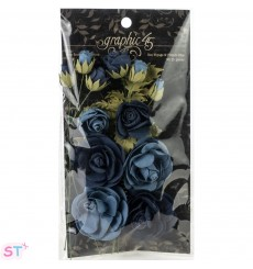 Staples Rose Bouquet Collection x 15 Azules