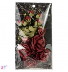 Staples Rose Bouquet Collection x 15 Rojas
