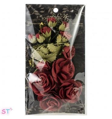 Staples Rose Bouquet Collection x 15 Rojas