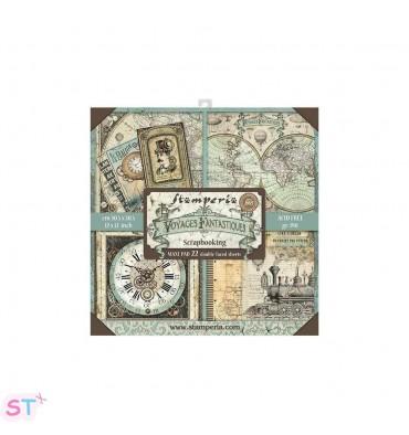Voyages Fantastiques 12x12 Stamperia