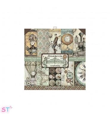 Voyages Fantastiques Pequeño 12x12 Stamperia