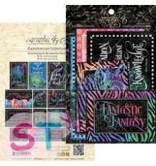 Kaleidoscope Ephemera Cards Graphic 45