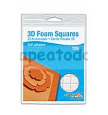3D FOAM SQUARES permanente 126u.