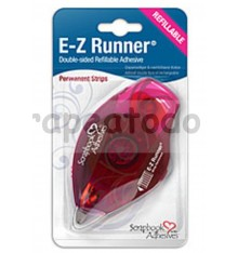 E-Z Runner Adhesivo permanente tiras - dispensador