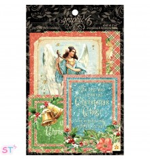 Joy To The World Ephemera Cards Graphic 45