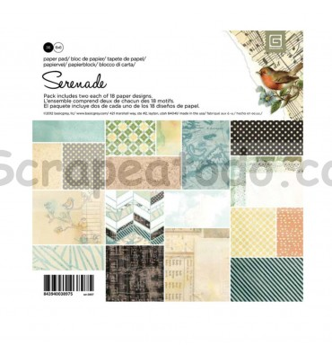 Paper pad Serenade 6x6