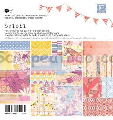 Paper pad Soleil 6x6