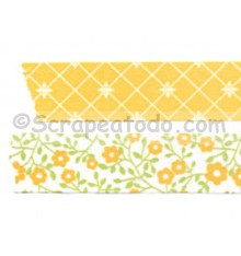 Dos Washi tape Lemon tree