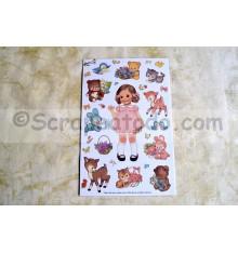Sticker Paper Doll 2