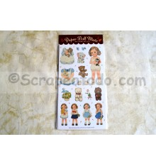 Sticker Paper Doll 1