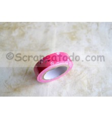 Fabric tape Pink