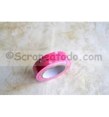 Fabric tape Pink